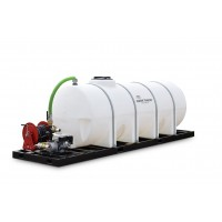 1025 Gallon Skid Mounted Water Tank