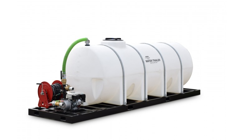 1025 Gallon Skid Mounted Water Trailer