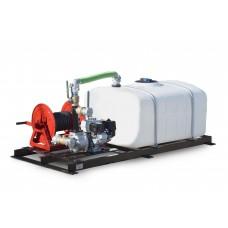 150 Gallon Skid Mounted Water Tank