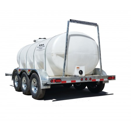 1600 Gallon Trailer Mounted Water Trailer