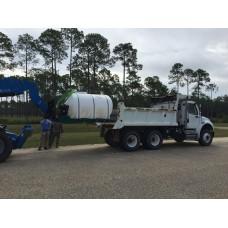 2600 Gallon Skid Mounted Water Tank