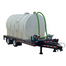 2600 Gallon Trailer Mounted Water Trailer