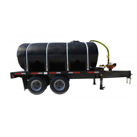 2000 Gallon Trailer Mounted Water Trailer