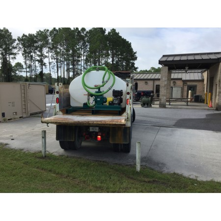 2600 Gallon Skid Mounted Water Trailer