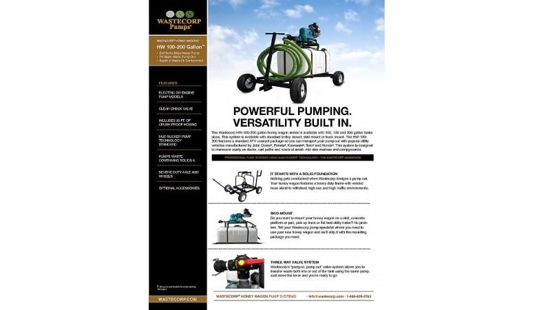 100 Gallon Pump Out Fact Sheet