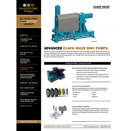 3DDWP Clack Valve Fact Sheet