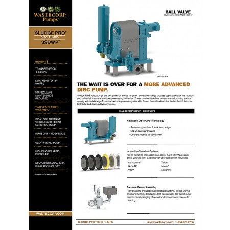 3SDWP Ball Valve Fact Sheet