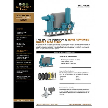 4DDWP Ball Valve Fact Sheet