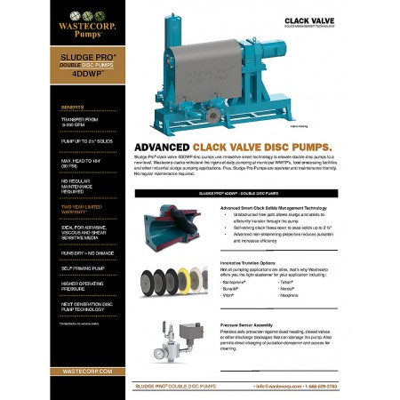 4DDWP Clack Valve Fact Sheet