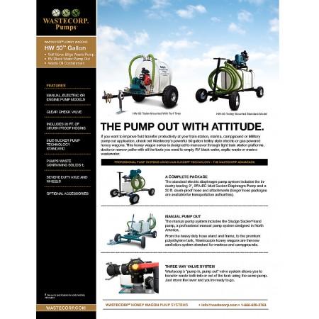 50 Gallon Pump Fact Sheet