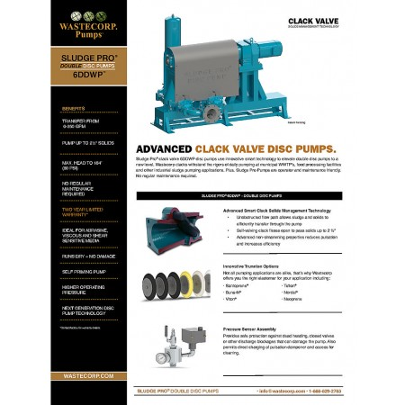 6DDWP Clack Valve Fact Sheet