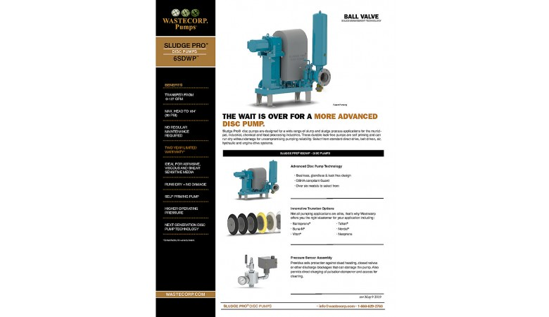 6SDWP Ball Valve Fact Sheet