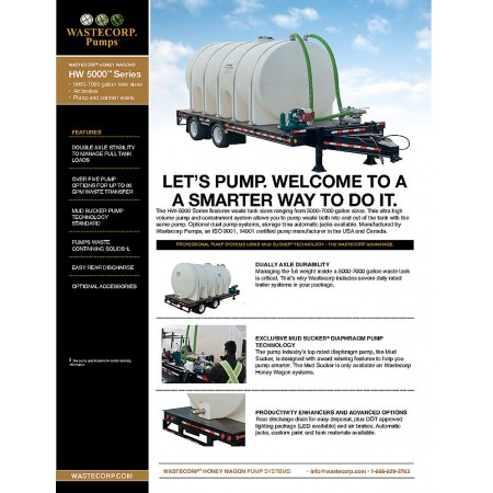5000-7000 Gallon Honey Wagons