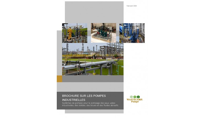 French Industrial Pumps Brochure