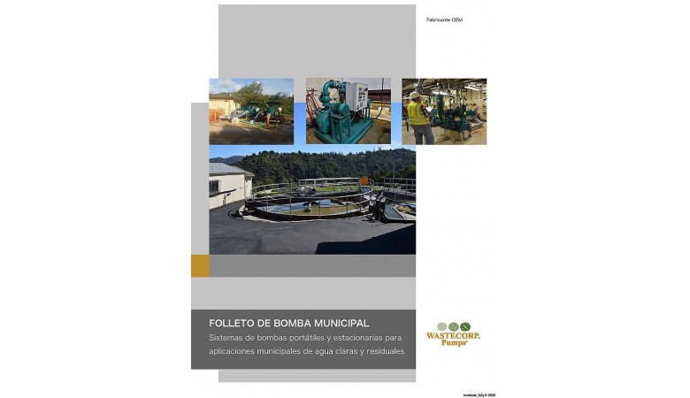 Spanish Municipal Pump Brochure
