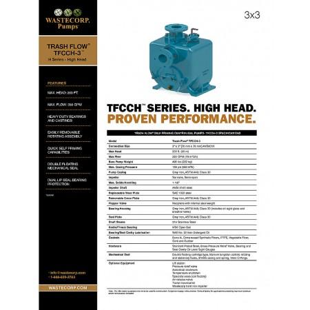 TFCCH-3 High Head Fact Sheet