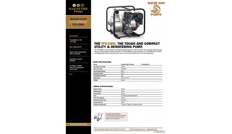 TFX-2WH Fact Sheet