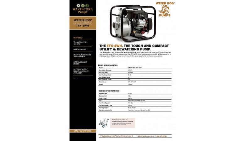 TFX-4WH Fact Sheet