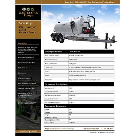 TVP-1500-100 Fact Sheet