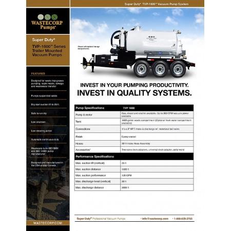 TVP-1600 Fact Sheet