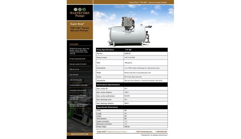 TVP-300 Vacuum Pump