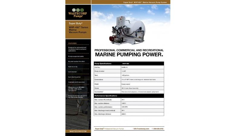 WVP 450 Fact Sheet