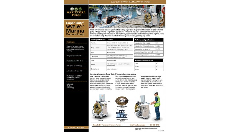WVP-60 Fact Sheet