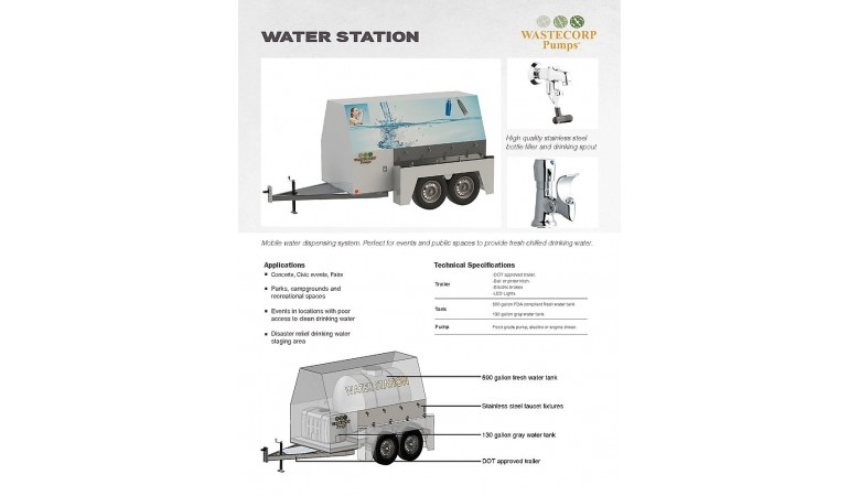 Water Station Brochure