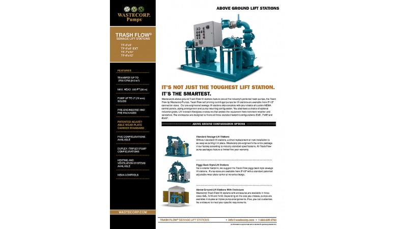 Above Ground Lift Station Brochure