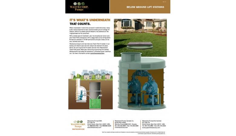 Below Ground Pump Station Literature