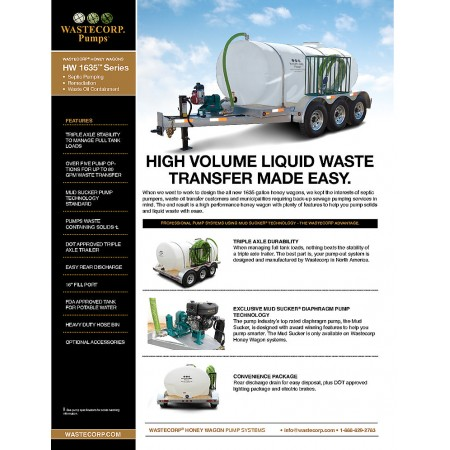 High Capacity Honey Wagons