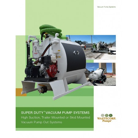 Vacuum Pump Product Brochure