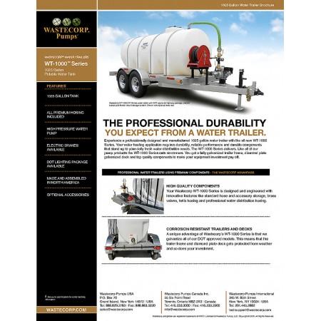 1025 Gallon Water Wagon Brochure